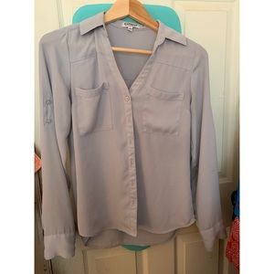 Express XS slim fit portofino dress shirt